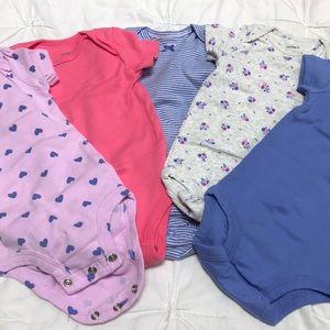 5 pack carter onesies